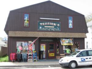 Street Entrance to Tessier's Hardware
